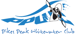 Pikes Peak Whitewater Club logo