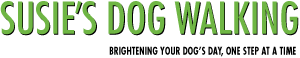 Susies dog walking logo