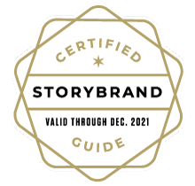 Certified StoryBrand Guide badge credential